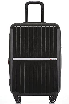 QANTAS Bondi 4 Wheel Trolley Suitcase, Black, 77cm