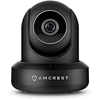 Amcrest HDSeries 720P WiFi IP Video Security Surveillance Camera, Plug/Play, Pan/Tilt, Two-Way Audio & Night Vision IPM-721B (Black)