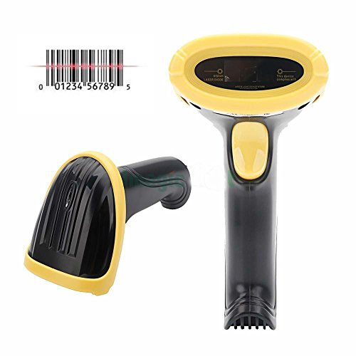 2.4GHz USB WIFI Handheld Visible Cordless Barcode Scanner Reader Wireless from Unknown