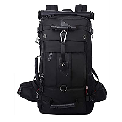 Paladineer Men Outdoor Sports Large Capacity Hiking Backpack Traveling Backpack-Ideal for Hiking, Camping, Climbing, Traveling, Running, Cycling, Exercising or Other Outdoor Activities 40L
