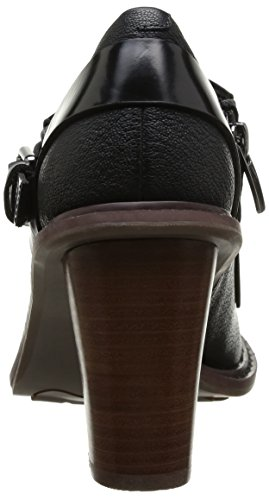 Clarks Blues Melody - Zapatos de tacón Black Combi Leather
