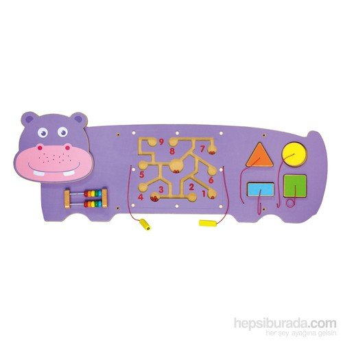 Serra Baby Vıga Toys Wall Game - Water Aygırı