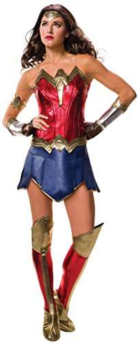 Secret Wishes Women's Wonder Woman Adult Costume, As Shown, Large