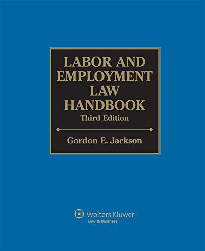 Download Labor and Employment Law Handbook (Labor & Employment Law Handbook) Pdf