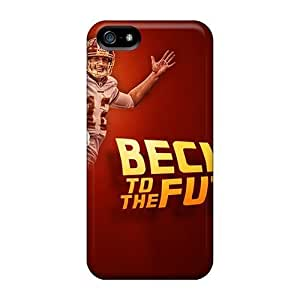 Rosesea Custom Personalized High-quality Durable Protection Cases For Iphone 5 5s washington Redskins
