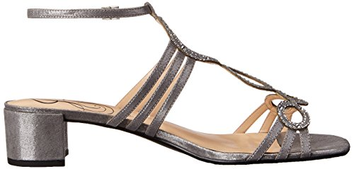 Terri J Women's Glimmer Dress Renee Silver Sandal zzwxEqHA