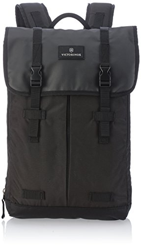 Victorinox Nylon Briefcase - Victorinox Luggage Altmont 3.0 Flapover Laptop Backpack, Black, One Size