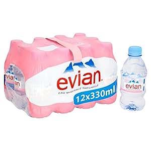 Evian agua mineral sin gas 12 x 330ml