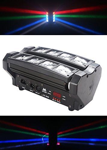 8x 3W RGBW LED haz araña luz, uso para discoteca, salón de baile, KTV, bar, club, fiesta, boda