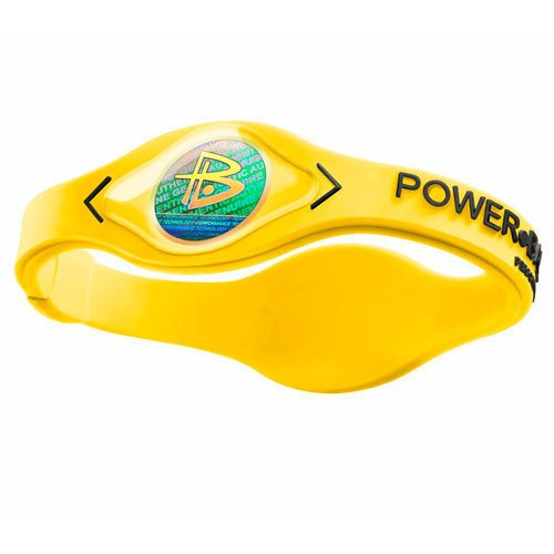 Power Balance Silicone Wristbands Yellow