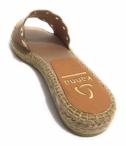Beige et Plage KANNA pour Taupe spécial SOHER Femme Chaussures Piscine nqP8I