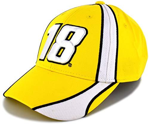 Kyle Busch Cotton - SMI Properties Kyle Busch 2019 Speedway NASCAR Pit Hat Yellow