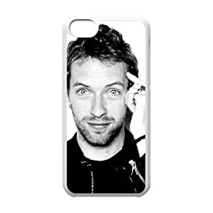 Coldplay 001 iPhone 5c Cell Phone Case White yyfD-013476