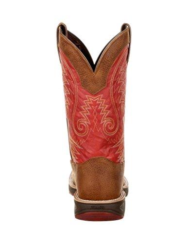 Durango Western Boots Mens Ultra-lite 12 Square Rocker Heel Ddb0136 Cammello Caienna