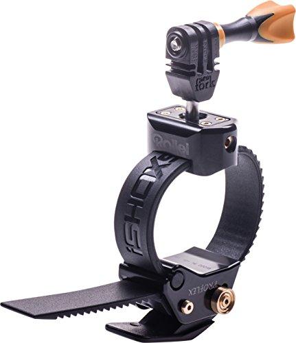 Rollei Actioncam Halterung ProFlex - universelle Spannhalterung für Rollei Actioncams und GoPro - Schwarz