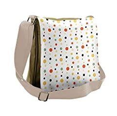 """Comfortable and fashionable messenger bag. OVERALL DIMENSIONS: 12.5"""" to 12"""". The size of the image printed is 10"""" to 11"""". This shoulder is very sturdy and features 3 useful compartments with zippers + 1 zippered compartment inside the bag. Fr..."""