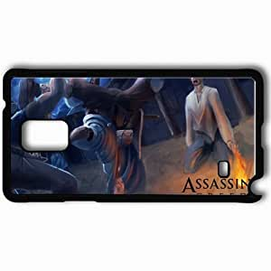 Personalized Samsung Note 4 Cell phone Case/Cover Skin Art Assassin Victim Blades Evening Black