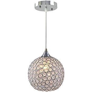 Completely new DINGGUTM 3 Lights Modern Crystal Ball Pendant Light Fixture Flush  RF68