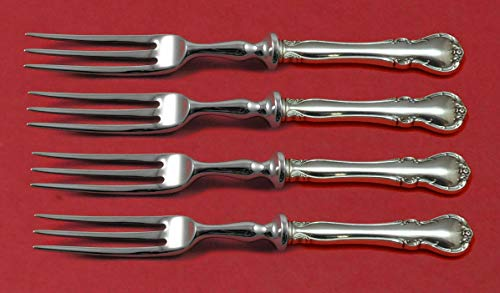 (French Provincial by Towle Sterling Silver Fruit Fork Set 4-Piece 6