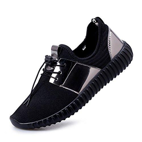 running pour de running pour Greaten Chaussures de Greaten homme Noir Chaussures 0q15q