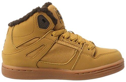 DC Shoes Rebound WNT, Zapatillas Para Niños Marrón (Wheat)