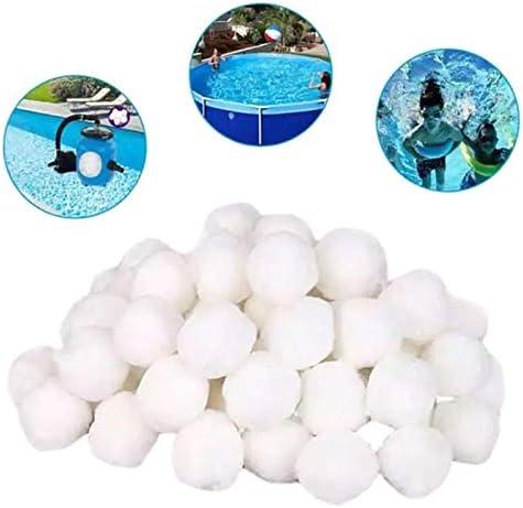 7thLake Pool-Filterkugeln,Reinigungsb/älle f/ür Schwimmb/äder,Spezielle Filterkugeln aus feinen Fasern 200g
