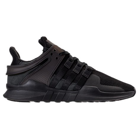 Adidas Mens Eqt Support Adv Running Sneakers Black Black Size 8 5 D  Us