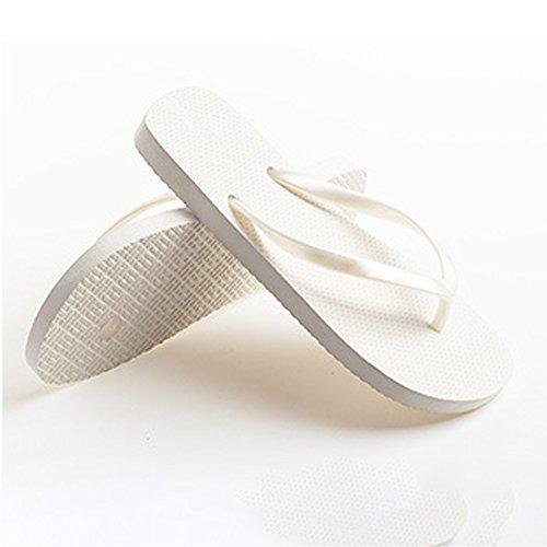 Piscine Flip Été Tongs Frestepvie Filles Chaussures Blanc Femme Hommes Tongs Dames Plage Flop XT0qTwvO