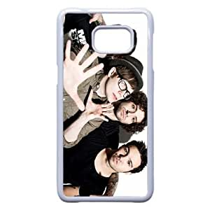 Samsung Galaxy S6 Edge Plus Cell Phone Case White Fall out boy QY7001536