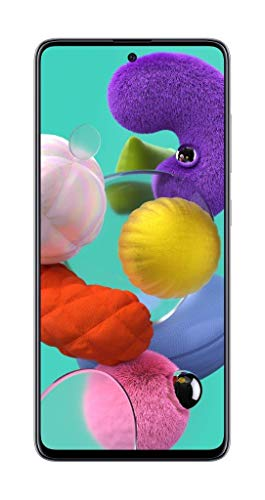 Samsung Galaxy A51 Factory Unlocked Cell Phone | 128GB of Storage | Long Lasting Battery | Single SIM | GSM or CDMA…