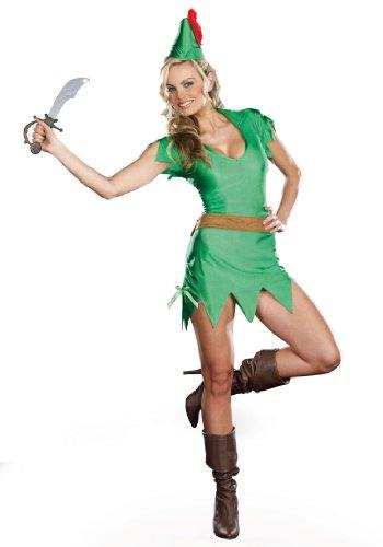 Dreamgirl Women's Pretty Pan, Green,