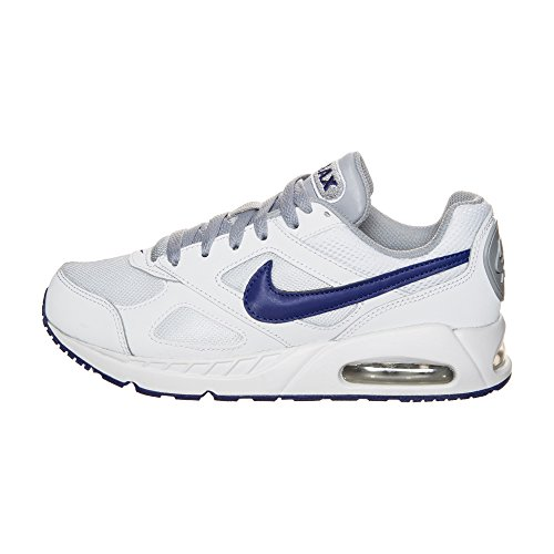 Nike Air Max Ivo (Gs), Zapatillas de Running para Hombre Blanco (Blanco (white/deep royal blue-wolf grey))