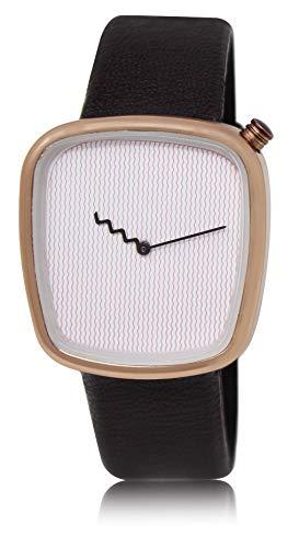 LOREM Analogue White Dial Men's Watch   LR41