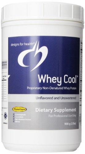 Designs pour la santé lactosérum en poudre Cool, Plaine, 900 Gram