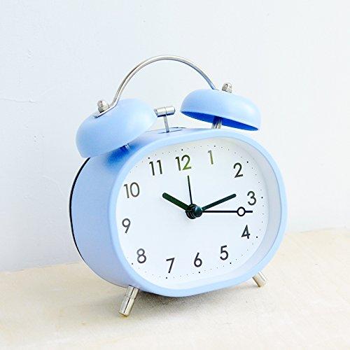 Reloj Despertador Digital de sobremesa, Metal, péndulo, 5 Pulgadas, sección L