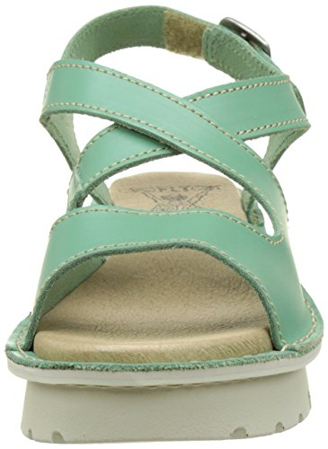 005 Mynt Green London Sandals Kimb456fly Women's Heels Fly xwSY480qq