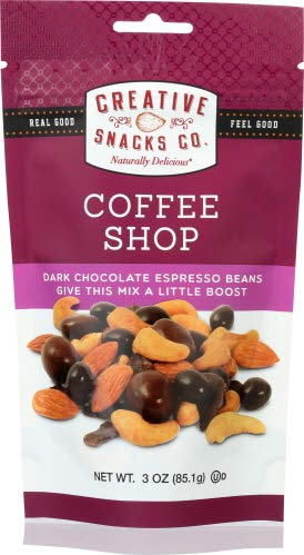 Amazon com : Creative Snacks Coffee Shop Nuts 3 OZ (Pack of