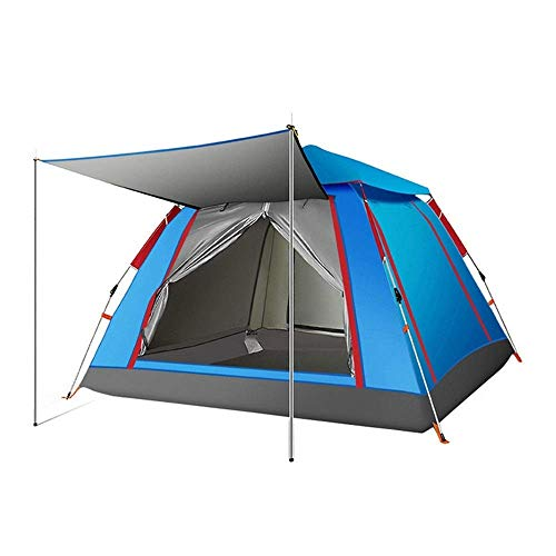 NILINLEI Camping Tent is Lightweight and Suitable for 1 and 2 People, Hiking and Trekking 215cm 215cm 142cm