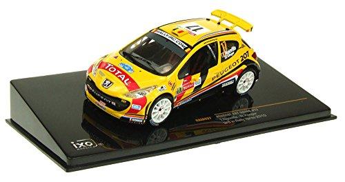 1/43 プジョー207S2000 2010年イープルラリー3位 #17 ドライバー:T.Neuville/K.Nicolas 「モダンラリーカーシリーズ」 RAM437