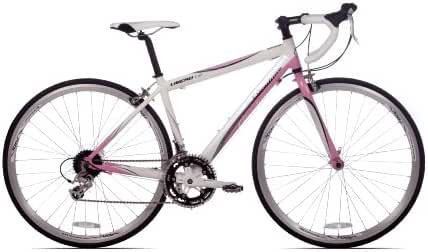 Giordano Libero 1.6 White/Pink Womens Road Bike-700c