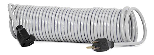 Flexy Coiled Extension Cord 16 Gauge 13 Amps - Extends From 10 In. To 20 Ft.