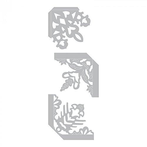 (Sizzix 661539 Thinlits Die Set, Photo Corners, Snowflake by Sharyn Sowell (3-Pack))