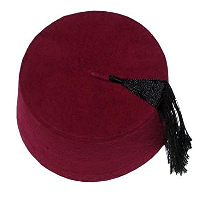 Authentic Ottoman Turkish Fez Fes Doctor Who Hat Tassel - Large: Toys & Games
