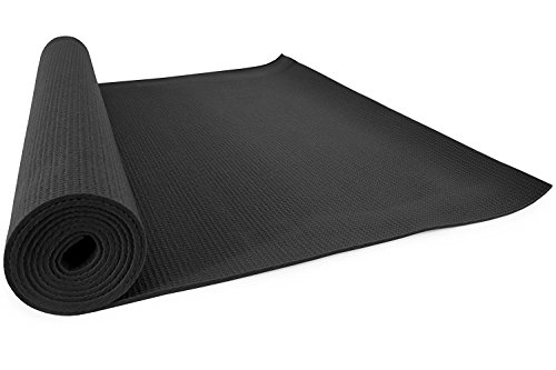 HOPEBERRY Yoga Mat Anti Skid Yoga Mat for Gym Workout and Flooring Exercise - Long Size Yoga Mat for Men and Women with Cover