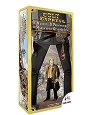 Colt Express exp. 2 Marshal & Gevangenen NL - Party spel - Uitbreiding voor Colt Express met een Marshal & Gevangenen - Voor de hele Familie - Taal: Nederlands