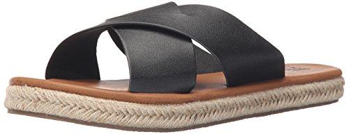 Heat Billabong WAVEZ Women's Off Black Sandal Espadrille 0gg4xwU