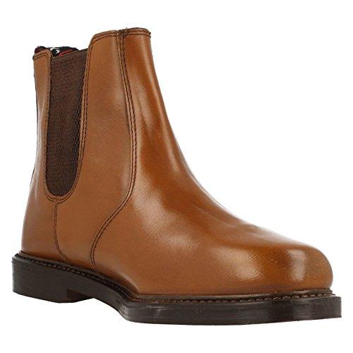 HX London Herren Pull On Knöchel Boots HX05 Hellbraun