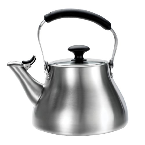 OXO Good Grips Classic Tea Kettle, Brushed Stainless image