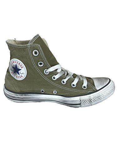 Converse All Star Hi Canvas Sneakers LTD 1C524 Olive Drab Smoke US6