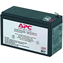 APC UPS Replacement Battery Cartridge for APC UPS Models BE650G, BE750G, BR700G, BE850M2 and select others (RBC17)